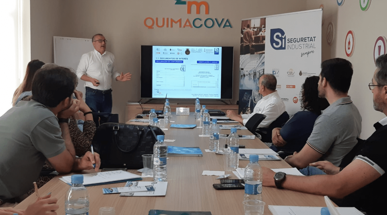 Jornada sobre Seguridad Industrial en Quimacova
