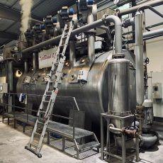 Proyecto de instalación de equipos a presión en industria textil