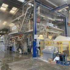 Proyecto de legalización de una máquina de secado para una industria de papel tissue