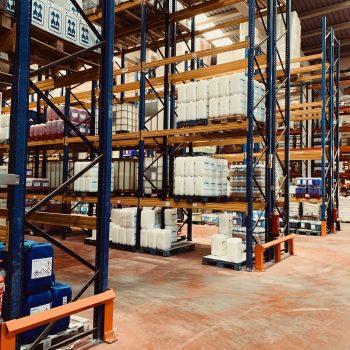Proyecto de instalación de almacenamiento de productos químicos para un almacén logístico ADR
