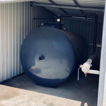 Proyecto de instalación de un depósito de gasóleo en una terminal portuaria