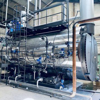 Proyecto de instalación de una caldera de vapor para una industria de fabricación de papel y cartón