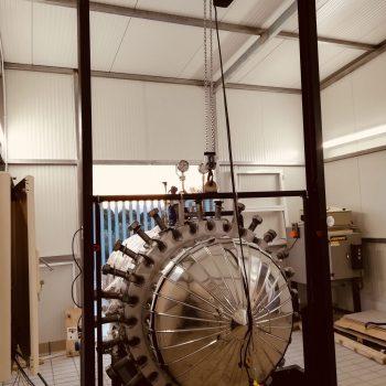 Proyecto de instalación de un equipo a presión para un laboratorio de investigación en la industria cerámica