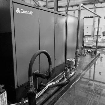 Proyecto de instalación de aire comprimido para industria alimentaria